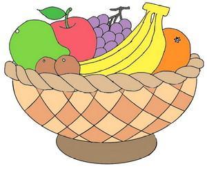 cara+menggambar+buah+buahan