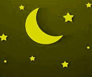 cara+menggambar+bulan+sabit+dan+bintang